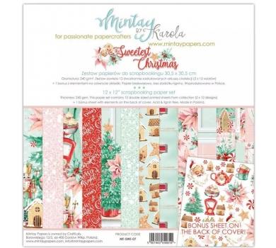 Набор бумаги для скрапбукинга The Sweetest Christmas, арт. MT-SWE-071