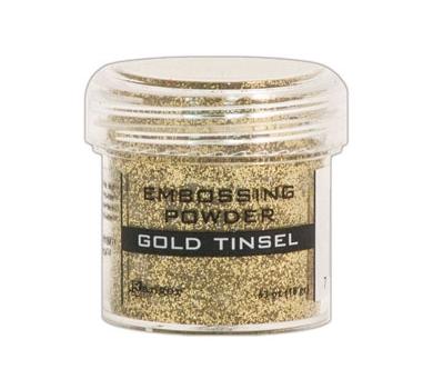 Пудра для эмбоссинга, цвет Gold Tinsel, 30 мл, арт. EPJ41047