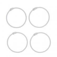 Кольца для альбомов, цвет белый, арт. 2587245