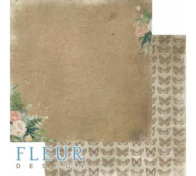 Лист двусторонней бумаги для скрапбукинга Мой букет, коллекция Дары полей, FD1006504