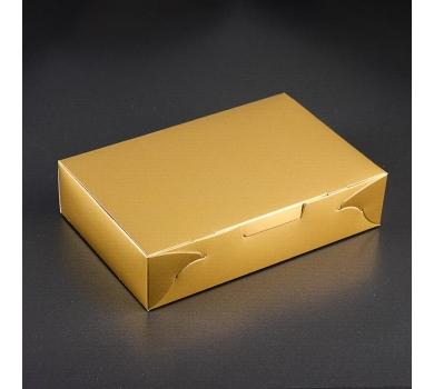 Коробка подарочная, золото, арт. 3824607