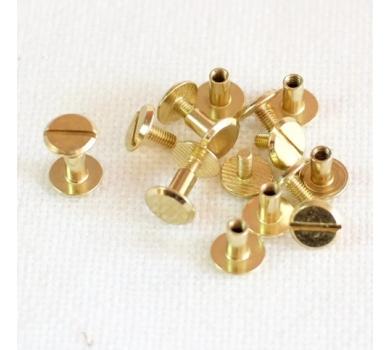 Хольнитен винтовой для установки кольцевого механизма, 1 шт., цвет золото, арт. 154020