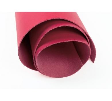 Кожзам (экокожа) цвет темно-розовый, 25х35см, арт. ABV-002-1