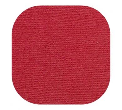 Кардсток текстурированный, цвет красный, 30.5х30.5 см, 235 гр/м, арт. BO-04