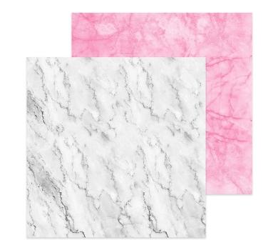 Фотофон двусторонний Мрамор белый-мрамор розовый, 45