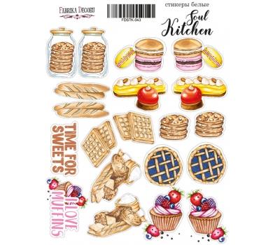 Набор наклеек (стикеров) Soul Kitchen, 21x16 см, FDSTK-043