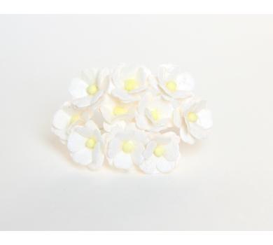 Цветочки Вишни средние, цвет белый, KA421100
