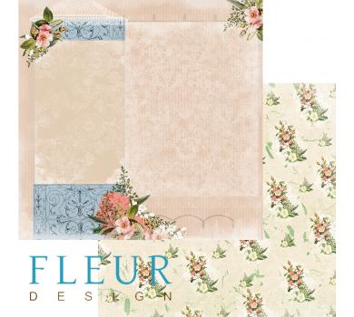 Лист бумаги для скрапбукинга Письмо домой, коллекция Краски осени арт. FD1004703