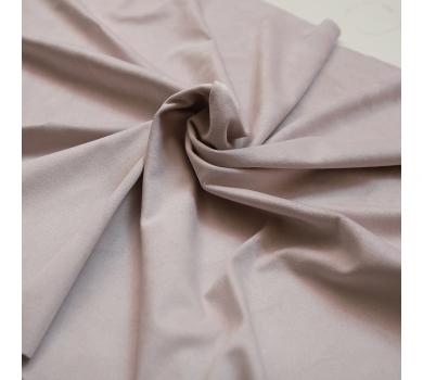 Искусственная замша двусторонняя, цвет пудровый, арт. 401611