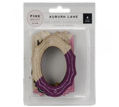 Набор деревянных рамок Auburn Lane Wood Veneer Frames, 310687