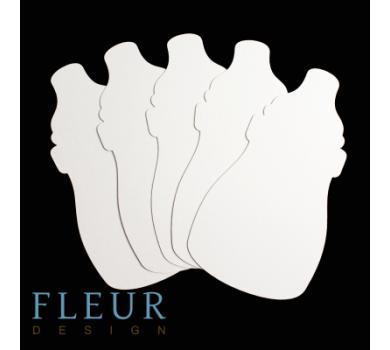 Заготовка для альбома Бутылочка от FLEUR design, FD1521005