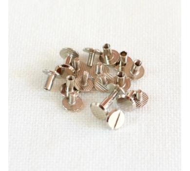 Хольнитен винтовой для установки кольцевого механизма, 1 шт., цвет серебро, арт. 125125