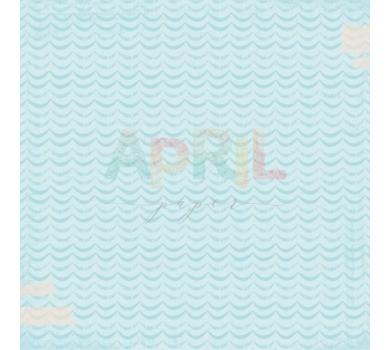 Бумага для скрапбукинга односторонняя Море радости, коллекция Детские мечты, арт. boy-012-01-5