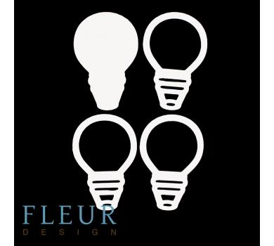 Заготовка для шейкера Лампочка от FLEUR design, FD1531039