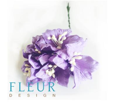 Цветы лилии фиолетовые, FD3031185