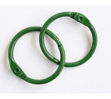 Кольца для альбомов, цвет зеленый, арт. SCB2504730