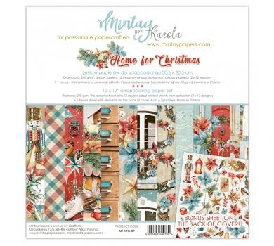 Набор бумаги для скрапбукинга Home for Christmas, арт. MT-HFC-071