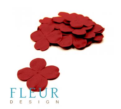 Гортензия крупная Красная, размер цветка 5 см, 20 шт/упаковка FD3041012