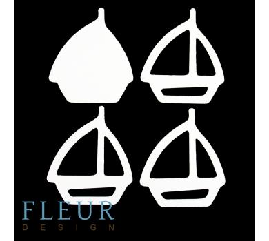 Заготовка для шейкера Кораблик маленькая, от FLEUR design, FD1531048