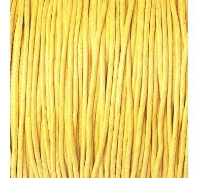 Шнур вощеный Ярко-желтый, JB-01/020