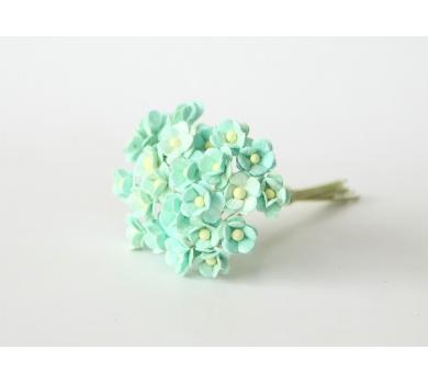 Цветочки Вишни мини, цвет мятный, KA431103