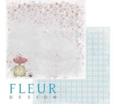 Лист бумаги для скрапбукинга Урожай коллекция Вишневый десерт, FD1002902