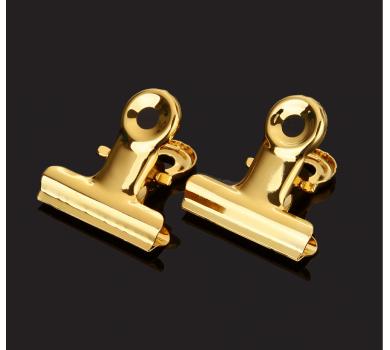 Зажим металлический мини, цвет золото, арт. KA104923