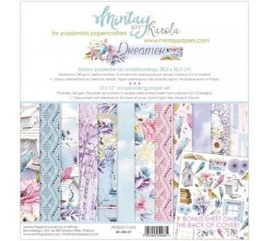 Набор бумаги для скрапбукинга Dreamer by Mintaypapers, арт. MT-DRE-071