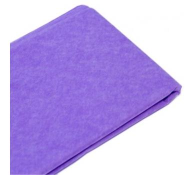 Бумага упаковочная тишью, цвет светло-сиреневый, 50 см х 76 см, арт. 1785