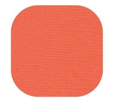 Кардсток текстурированный, цвет мак, 30.5х30.5 см, 235 гр/м, арт. BO-60