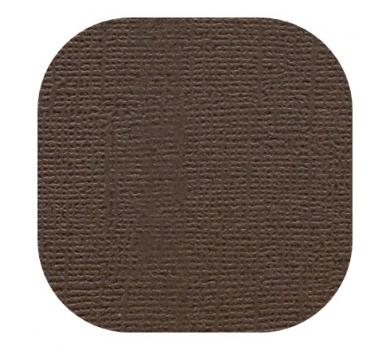 Кардсток текстурированный, цвет кофейный, 30.5х30.5 см, 235 гр/м, арт. BO-01