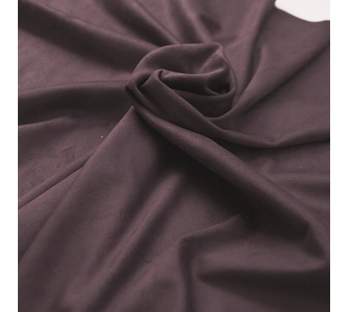 Искусственная замша двусторонняя, цвет темный красно-пурпурный, арт. 401620