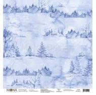 Односторонний лист Морозко, коллекция Зимняя сказка, MD99021
