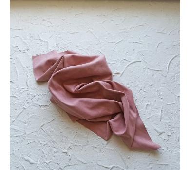 Искусственная замша двусторонняя, цвет розовая пудра, арт. 401607