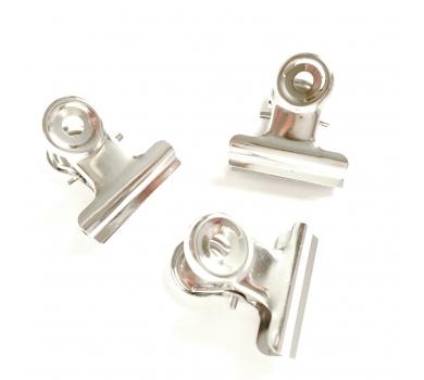 Зажим металлический, цвет серебро, арт. KA111110