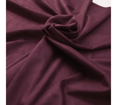Искусственная замша двусторонняя, цвет марсала, арт. 401608