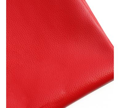 Кожзам на тканевой основе, красный, арт. KA420307