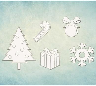 Чипборд набор Подарки, ARTCHB006022
