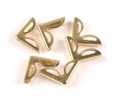 Металлический уголок, цвет золото, 1 шт., 180833