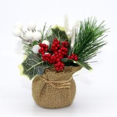 Декоративный букетик в мешочке, DKB178
