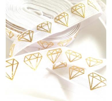 Резинка для блокнотов золотые алмазы, 08062017