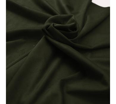 Искусственная замша двусторонняя, цвет хаки, арт. 401624