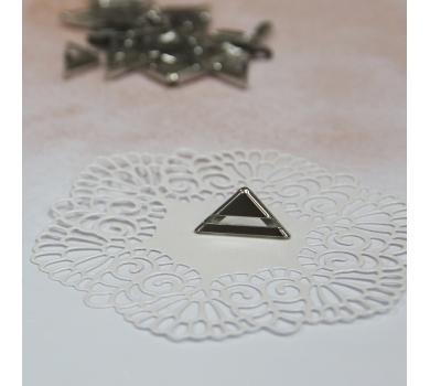 Металлический уголок, цвет под серебро, 16х16 мм, 1 шт., 180330