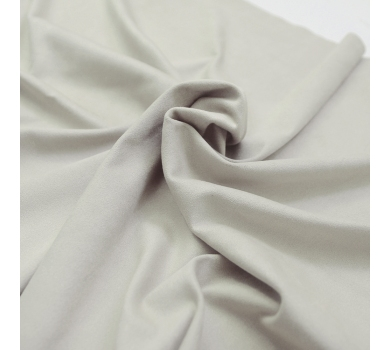 Искусственная замша двусторонняя, цвет бежево-пудровый, арт. 401619