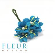 Мини-лилии, цвет бирюзовый, FD3113266