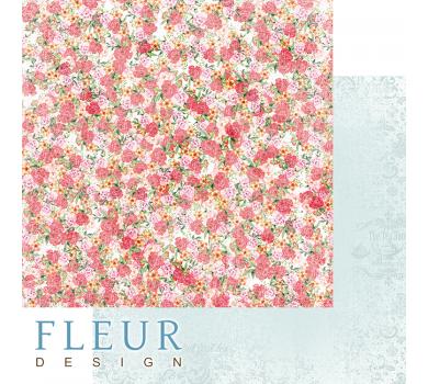 Лист бумаги для скрапбукинга Цветочные бутоны, коллекция Зефир, FD1006702