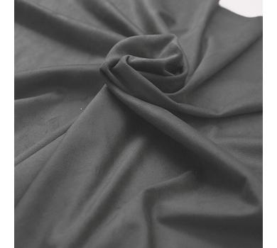 Искусственная замша двусторонняя, цвет темно-серый, арт. 401616