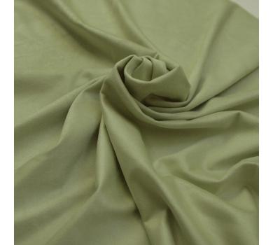 Искусственная замша двусторонняя, цвет лайм, арт. 411613