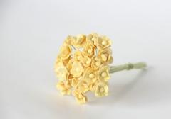 Цветочки Вишни мини, цвет светло-жёлтый, KA431111