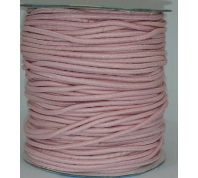 Шнур эластичный, цвет розовый, EC-20/067